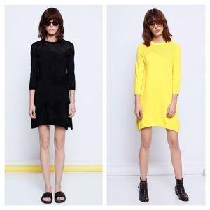 Zadig & Voltaire Rush Ve Black Dress S